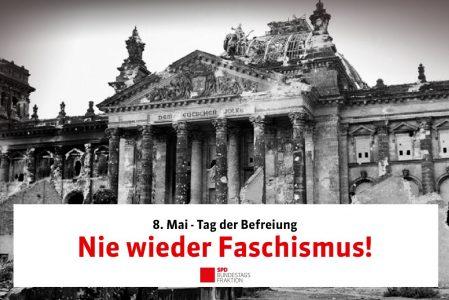 8. Mai 1945 – bedingungslose Kapitulation der Nationalsozialisten