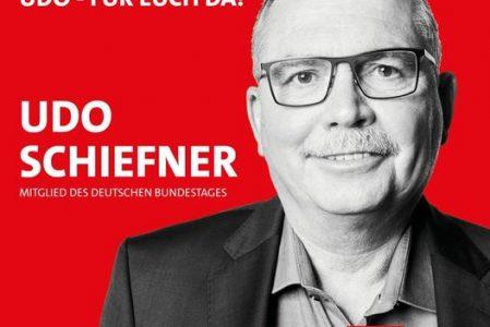 Udo Schiefner erneut zum Kreisvorsitzenden gewählt